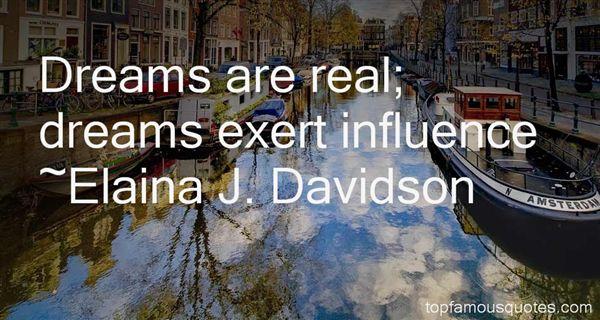 Elaina J. Davidson Quotes