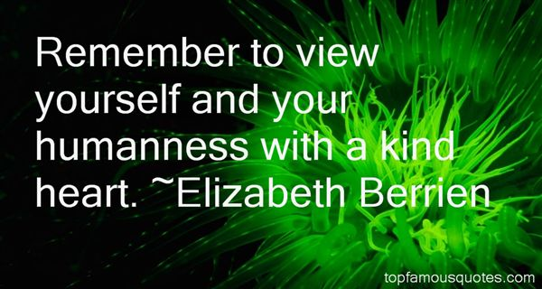 Elizabeth Berrien Quotes
