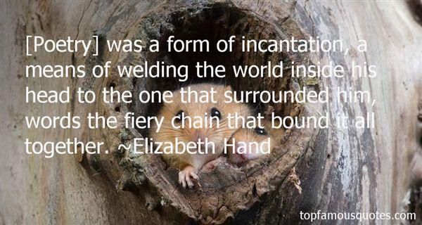 Elizabeth Hand Quotes