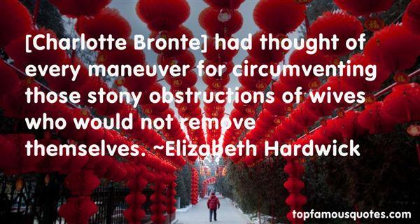 Elizabeth Hardwick Quotes