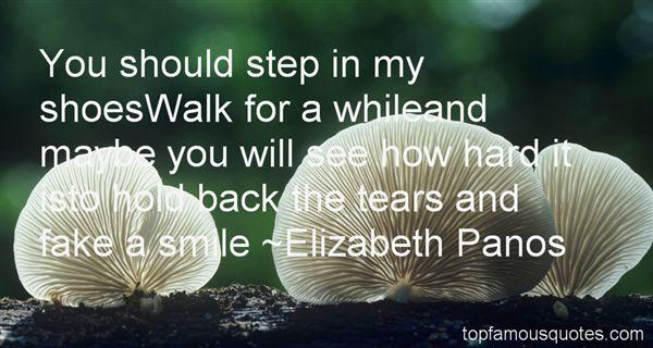 Elizabeth Panos Quotes