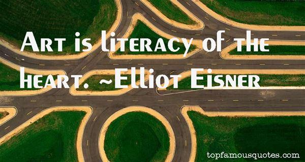 Elliot Eisner Quotes