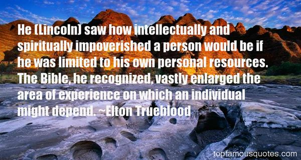 Elton Trueblood Quotes