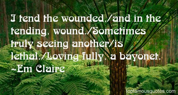 Em Claire Quotes