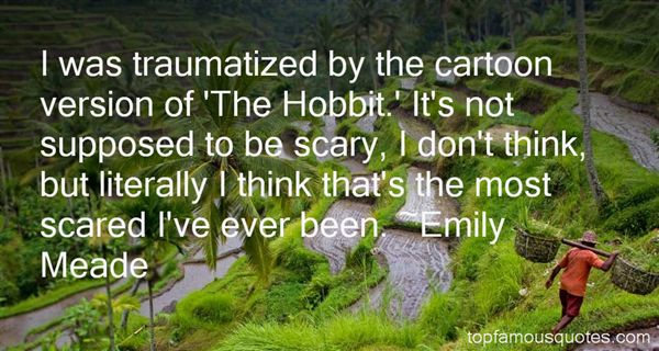 Emily Meade Quotes