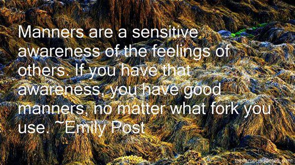 Emily Post Quotes