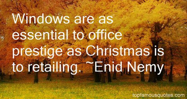 Enid Nemy Quotes