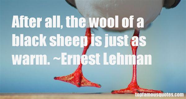Ernest Lehman Quotes