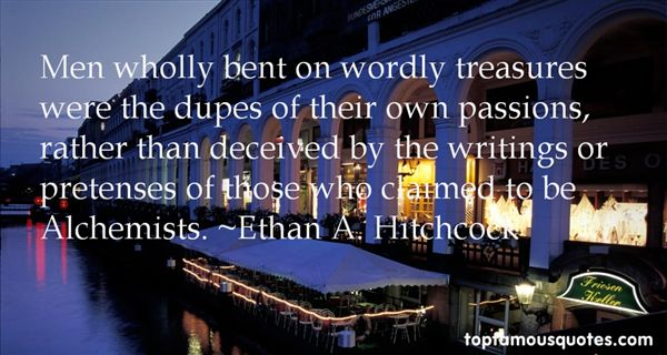 Ethan A. Hitchcock Quotes