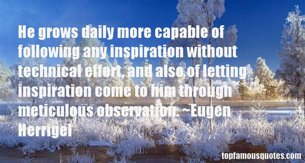 Eugen Herrigel Quotes