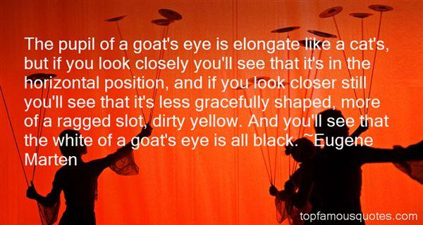 Eugene Marten Quotes