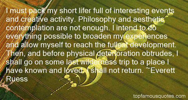 Everett Ruess Quotes