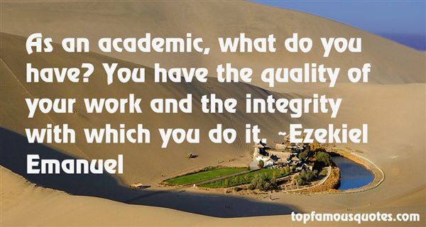 Ezekiel Emanuel Quotes
