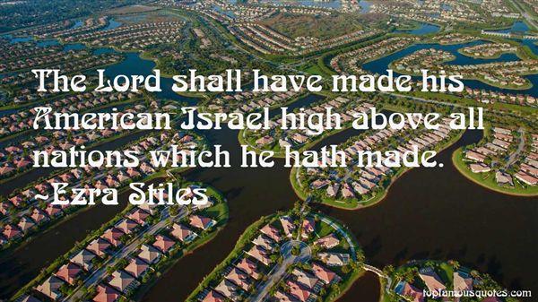 Ezra Stiles Quotes