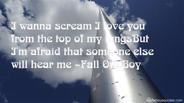 Fall Out Boy Quotes
