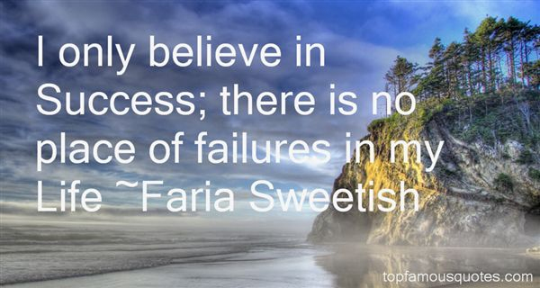 Faria Sweetish Quotes