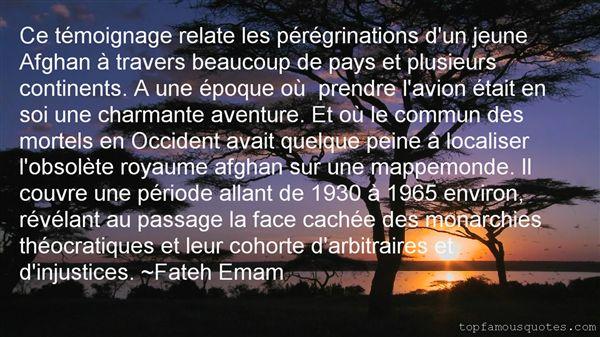 Fateh Emam Quotes