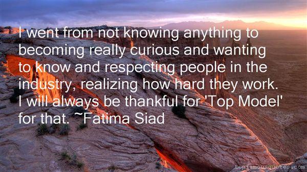 Fatima Siad Quotes