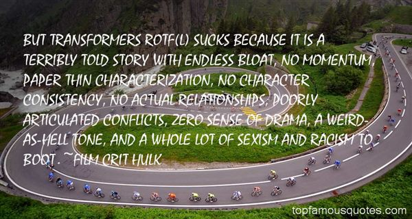 FILM CRIT HULK Quotes