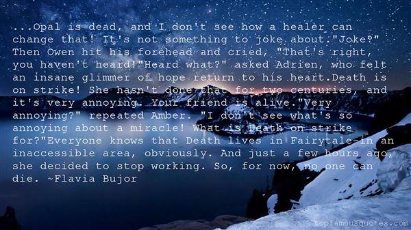 Flavia Bujor Quotes