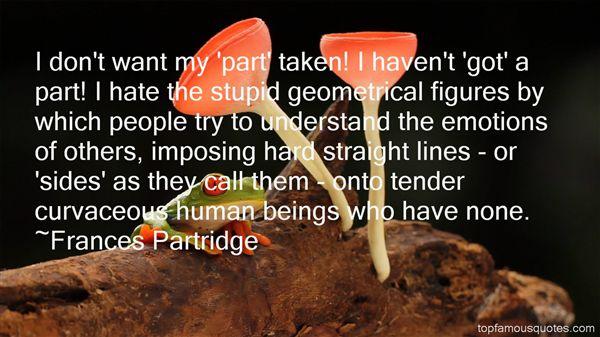 Frances Partridge Quotes