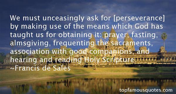 Francis De Sales Quotes