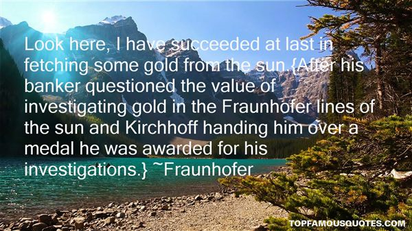 Fraunhofer Quotes