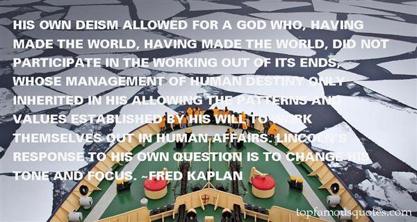 Fred Kaplan Quotes