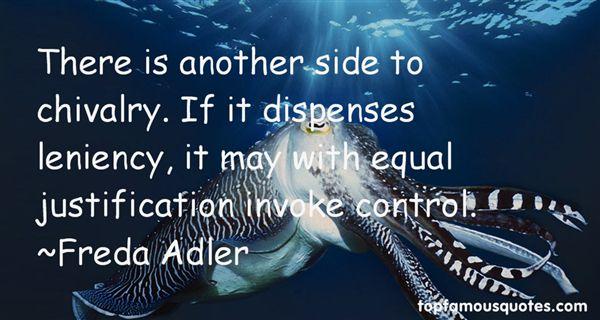 Freda Adler Quotes