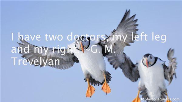 G. M. Trevelyan Quotes