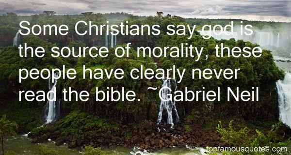 Gabriel Neil Quotes