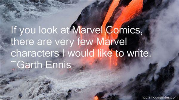 Garth Ennis Quotes