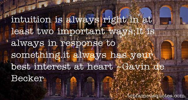 Gavin De Becker Quotes