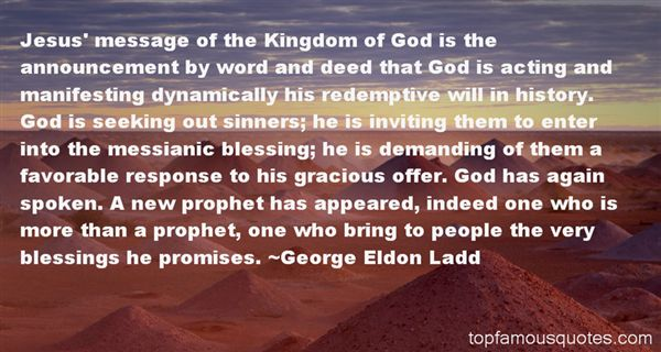 George Eldon Ladd Quotes