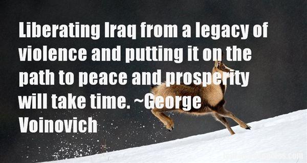 George Voinovich Quotes