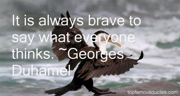Georges Duhamel Quotes