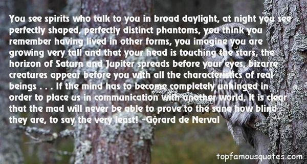 Gérard De Nerval Quotes