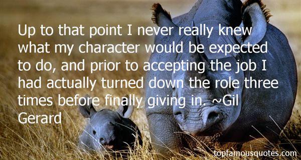 Gil Gerard Quotes
