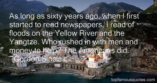 Gordon Sinclair Quotes