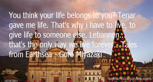 Goro Miyazaki Quotes