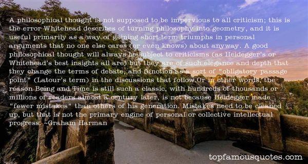 Graham Harman Quotes