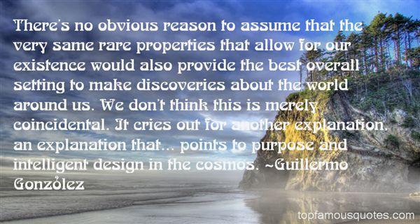 Guillermo González Quotes