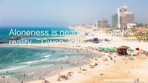 Gwen John Quotes