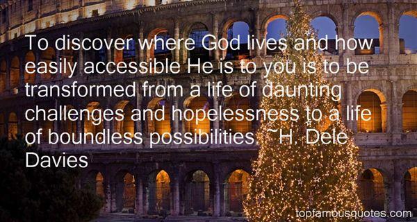 H. Dele Davies Quotes