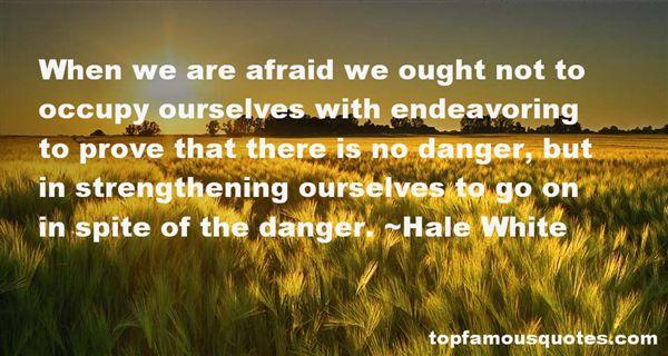 Hale White Quotes