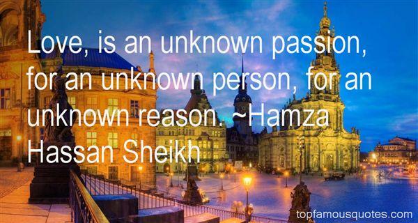 Hamza Hassan Sheikh Quotes