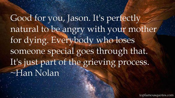 Han Nolan Quotes