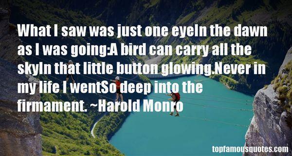 Harold Monro Quotes
