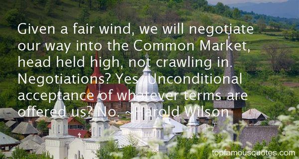 Harold Wilson Quotes