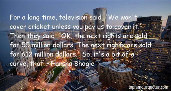 Harsha Bhogle Quotes
